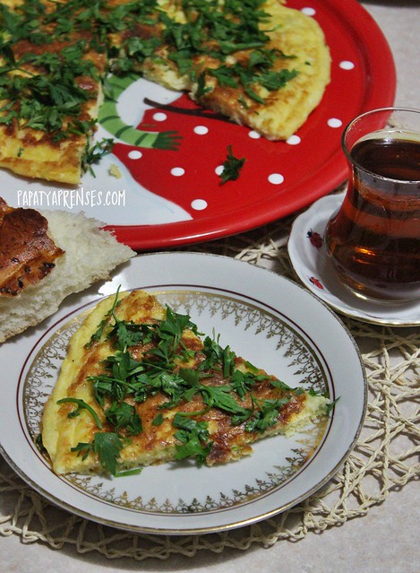 patatesli omlet 005