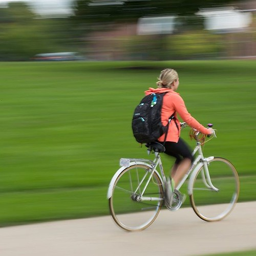 Ride into your last full week of classes for the year! #GoValpo