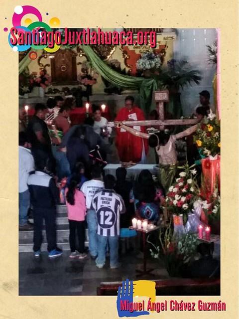 Celebración de la Santa Cruz en Santiago Juxtlahuaca.