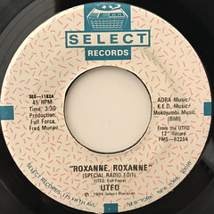 UTFO:ROXANNE, ROXANNE(LABEL SIDE-A)