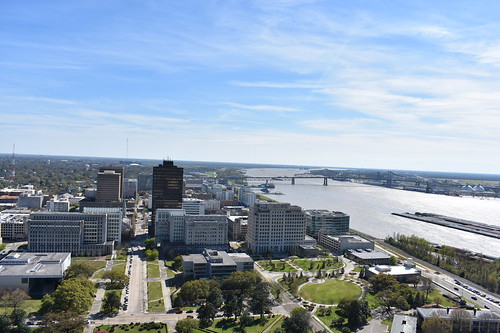 louisiana statehouse capitol batonrouge scenicview observationdeck mississippiriver