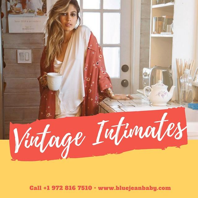 Women's Vintage Inspired Intimates & Sleepwear