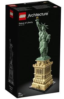 世界奇景絕讚樂高化!!LEGO 21041、21042 建築系列【萬里長城、自由女神】Great Wall of China、Statue of Liberty