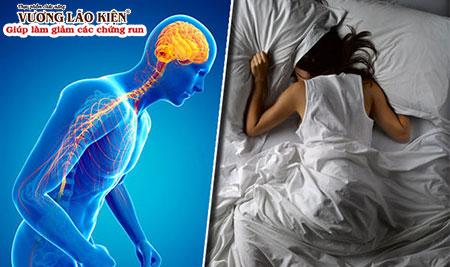 Rối loạn giấc ngủ có thể là triệu chứng bệnh Parkinson