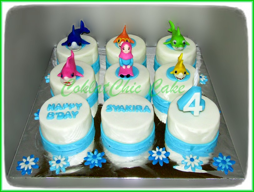 Minicake set BABY SHARK