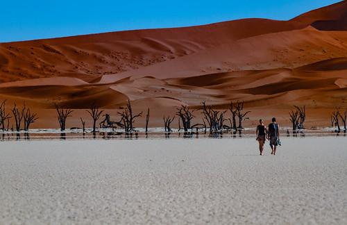 Namibie - Dead Vlei : Vers l'infini [Explored]