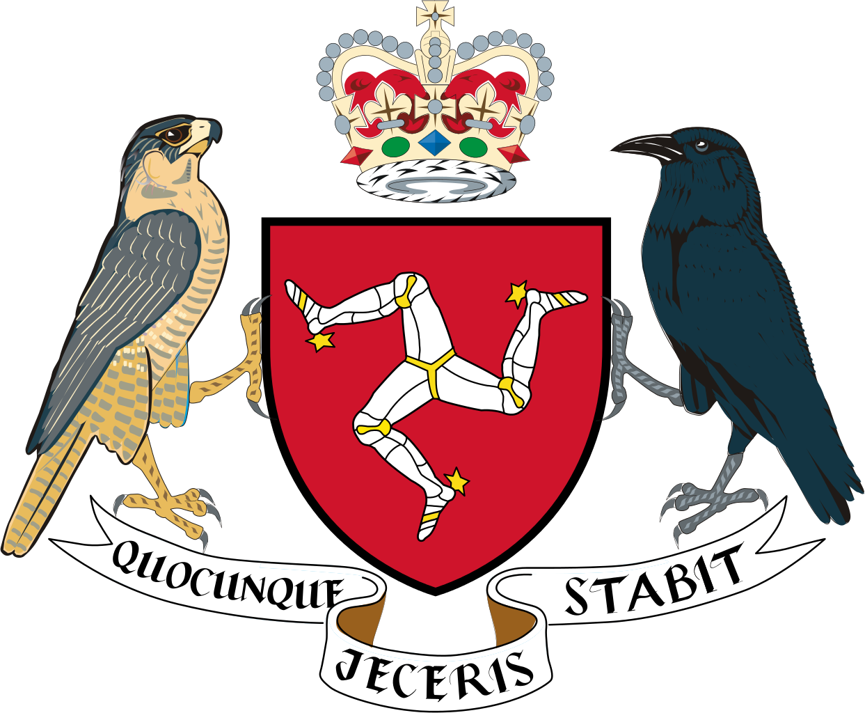 Coat of arms of Isle of Man