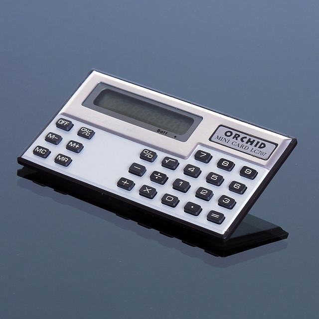 ORCHID Mini Card LC 707 Calculator