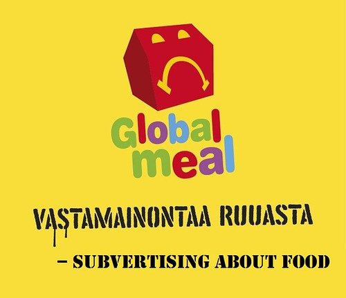 Global Meal - subvertising about food.
