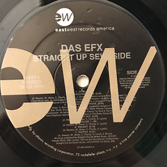 DAS EFX:STRAIGHT UP SEWASIDE(LABEL SIDE-A)