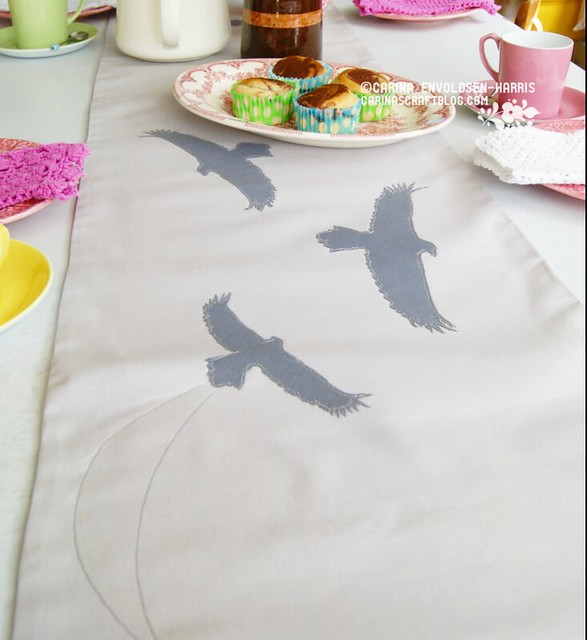 Sea eagle table runner from Polar Bear Country ebook
