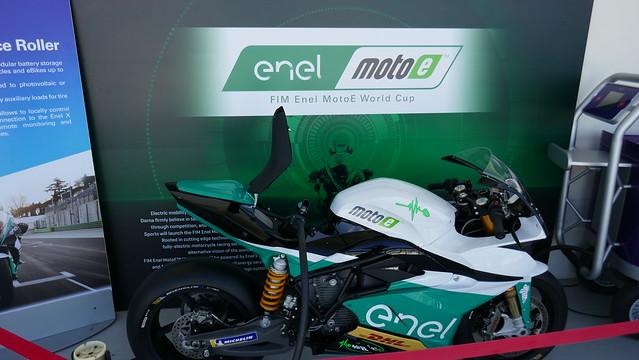 The new MotoE bike