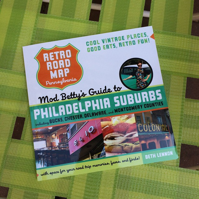 Retro Roadmap Roadbook Philadelphia Suburbs Book V2 New Cover!