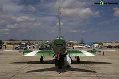 8806 - 6Y020 - Saudi Hawks - Royal Saudi Air Force - British Aerospace Hawk 65A - Luqa Malta 2017 - 170923 - Steven Gray - IMG_0053