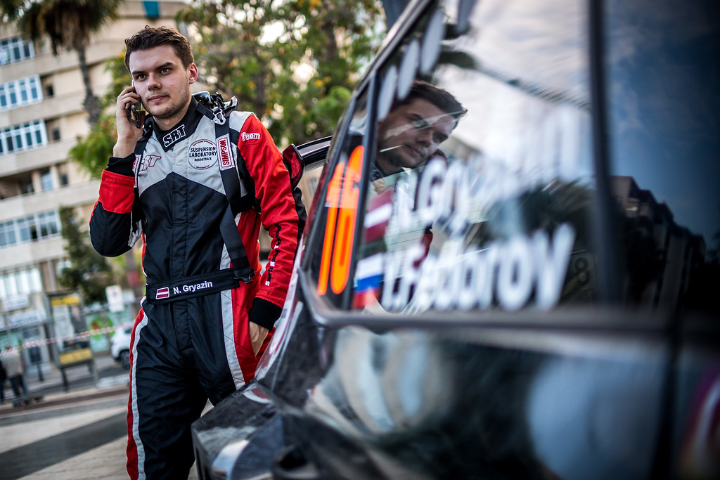 GRYAZIN Nikolay, Sports Racing Technologies, Skoda Fabia R5, portrait during the 2018 European Rally Championship ERC Rally Islas Canarias, El Corte Inglés,  from May 3 to 5, at Las Palmas, Spain - Photo Thomas Fenetre / DPPI