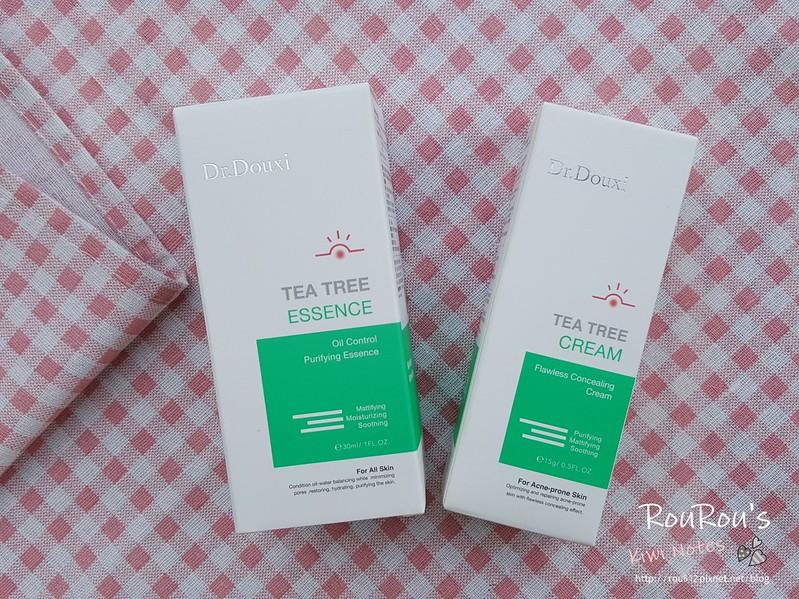 DR.DOUXI茶樹控油淨化凝露×茶樹遮瑕調理霜1