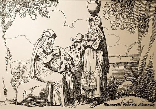 1815 ca Costumi di Cervara di B. Pinelli