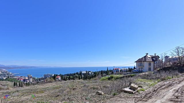 Crimean coast. Building.