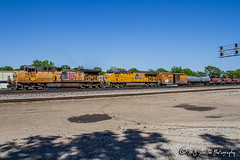 UP 5657 | GE AC44CWCTE | UP Memphis Subdivision