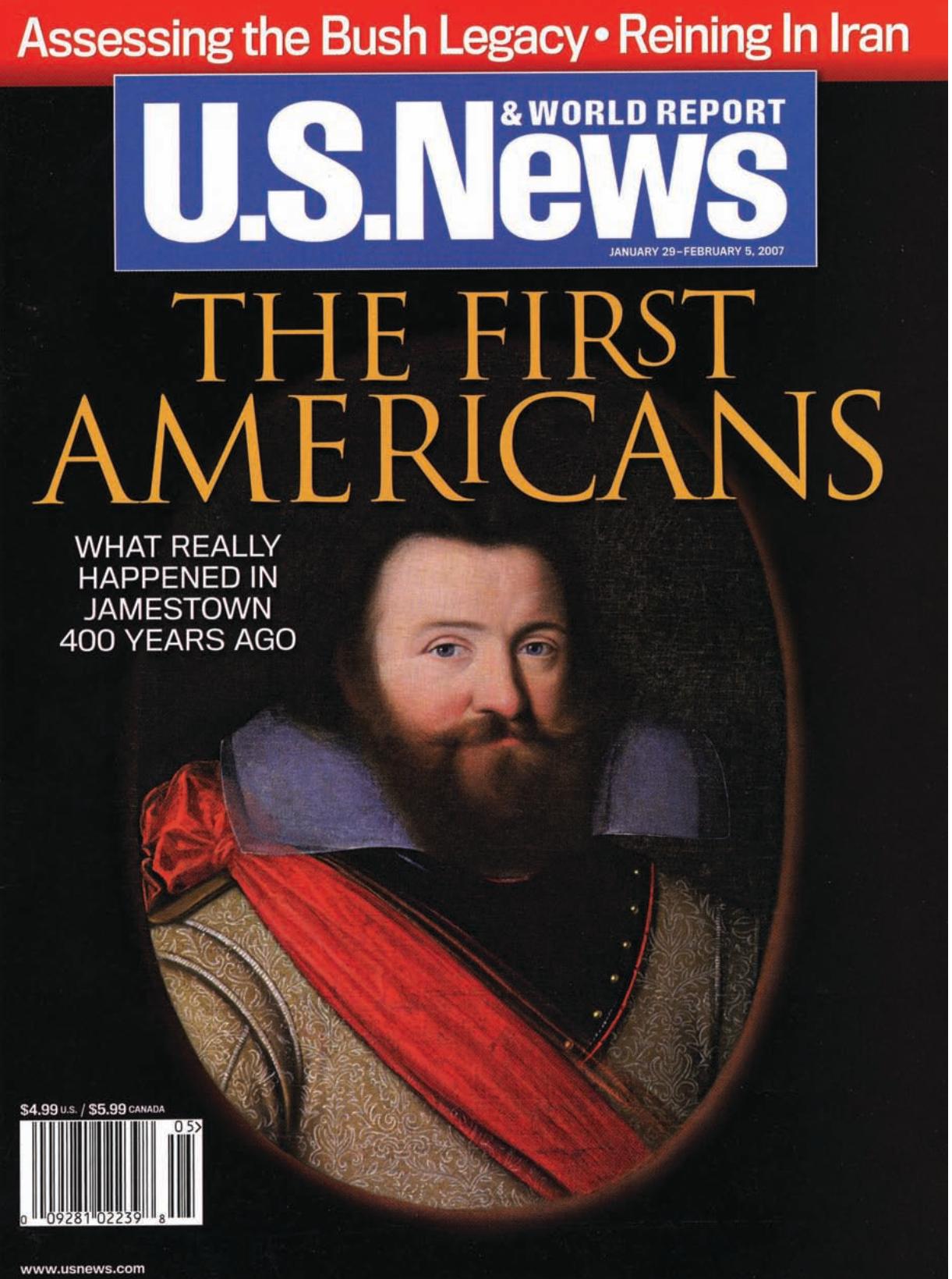 U.S. News & World Report, January 29-February 5, 2007, issue.