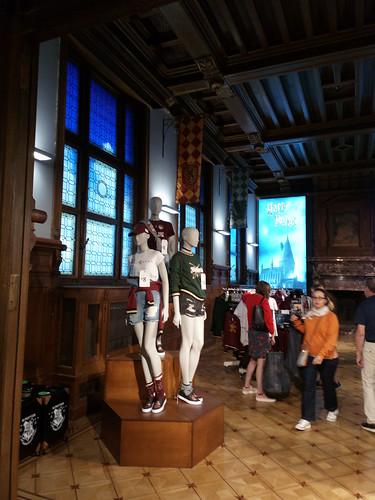Harry Potter room at Primark Antwerp