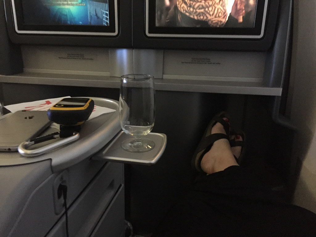 Legroom on United Domestic Lay Flat Seats