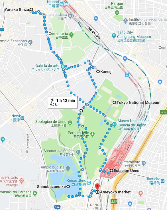 Roteiro Tóquio Ueno