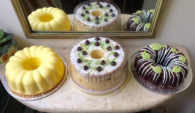 大姐的蛋糕,最後一堂課甜點