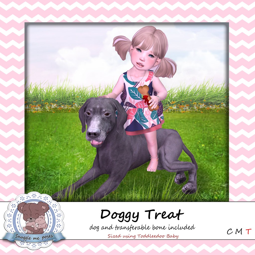 Snuggle Me Poses - Doggy Treat - TeleportHub.com Live!