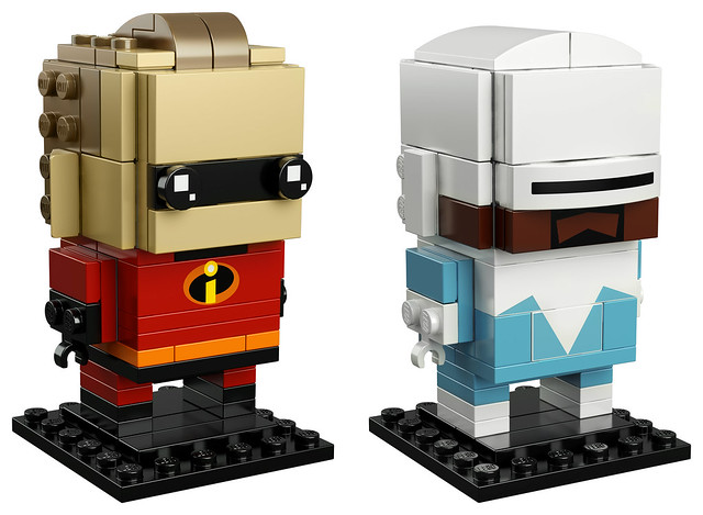41613 - Mr. Incredible & Frozone Brickheadz