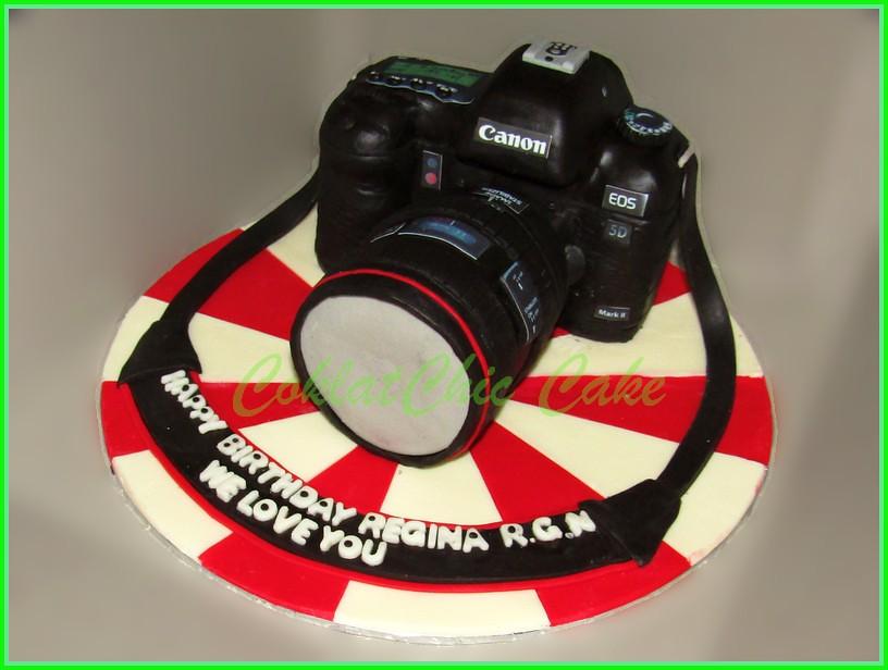 Cake Camera Canon EOS 5D REGINA Real Size