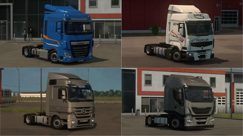Low deck chassis addons for Schumi's trucks by Sogard3[v2 7