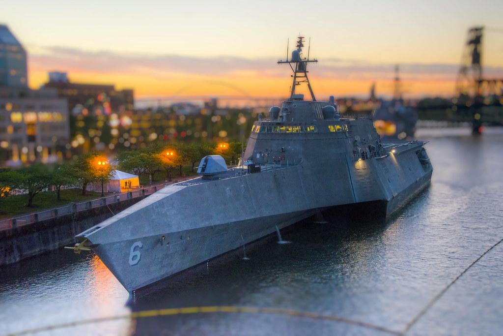 Miniature Littoral Combat Ship