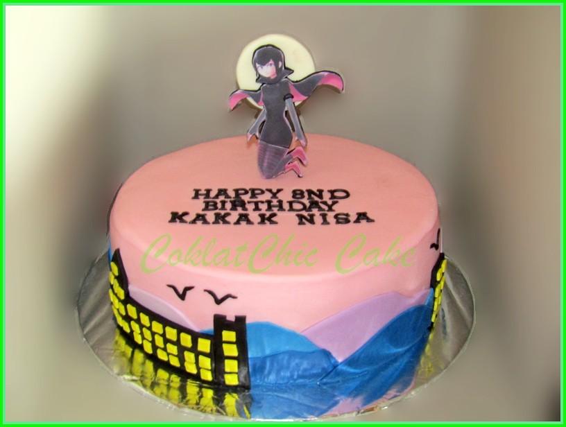 Cake Hotel Transylvania Mavin KAKAK NISA 24 cm