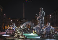 Fontana del moro (Piazza Navona - Rome ) #photography #landscape #nationalgeographic #clouds #lights #travel #travelphotography #photooftheday #photoshoot #picoftheday #pictureoftheday #roma #visitrome #night #cityscape