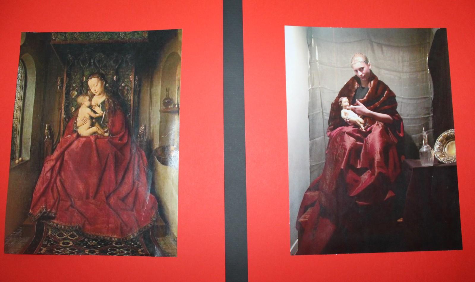 Exposición creativa de arte y fotografía