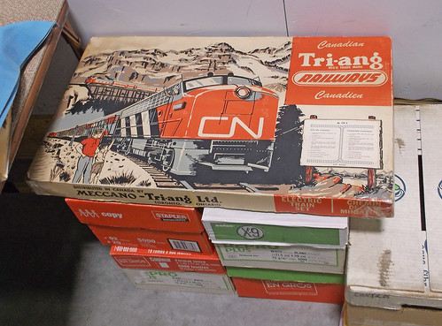 Triang Canadian train set