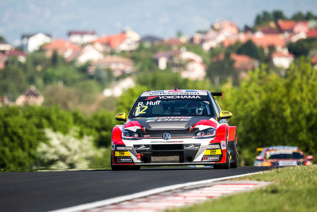 12 HUFF Rob (GBR), Sebastien Loeb Racing, Volkswagen Golf GTI TCR, action during the 2018 FIA WTCR World Touring Car cup, Race of Hungary at hungaroring, Budapest from april 27 to 29 - Photo Thomas Fenetre / DPPI