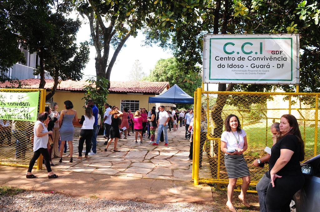 Resultado de imagem para Centro de Convivência do Idoso, no Guará