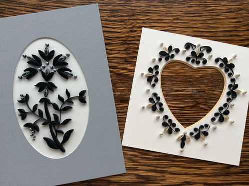 Quilled Picture and Quiled Photo Mat