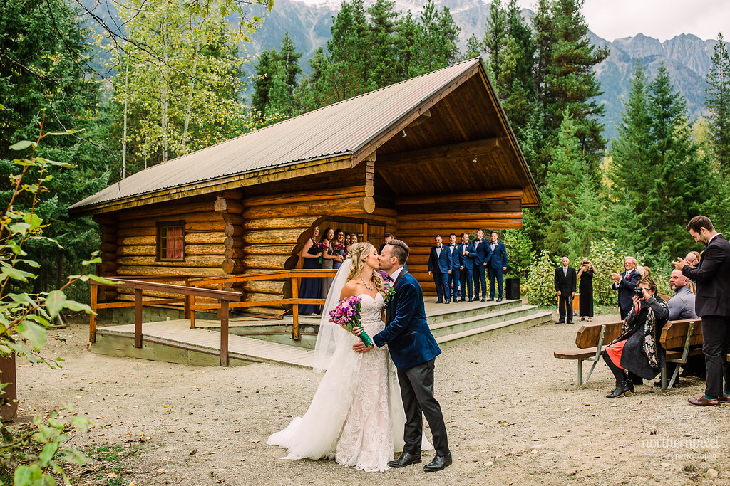 Wedding Ceremony - Mount Robson British Columbia