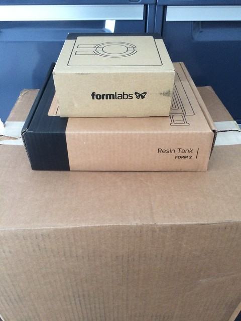 FormLabs Form2 boxes