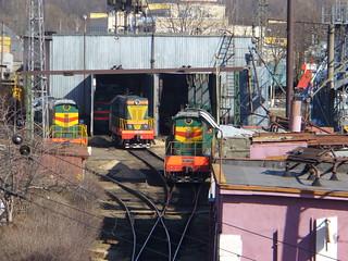 RZD ChME3-2365, Podmoskovnaya depot brfore conversion to steam depot