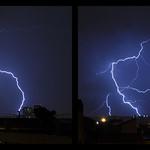 16. Märts 2018 - 22:57 - Deux prises de vues réalisées le 16 mars dernier à Marseille (à 3 minutes d'intervalle).  Two lightning shots caught two monthes ago in Marseille (in 3 minutes).  16mm @ ƒ/f8 1.3s
