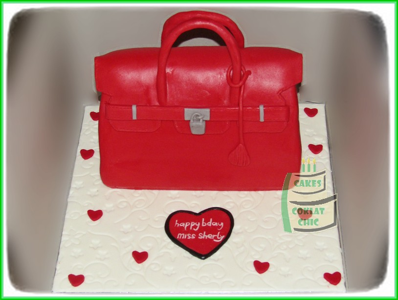 Cake Branded Bag Miss Sherly 18 cm