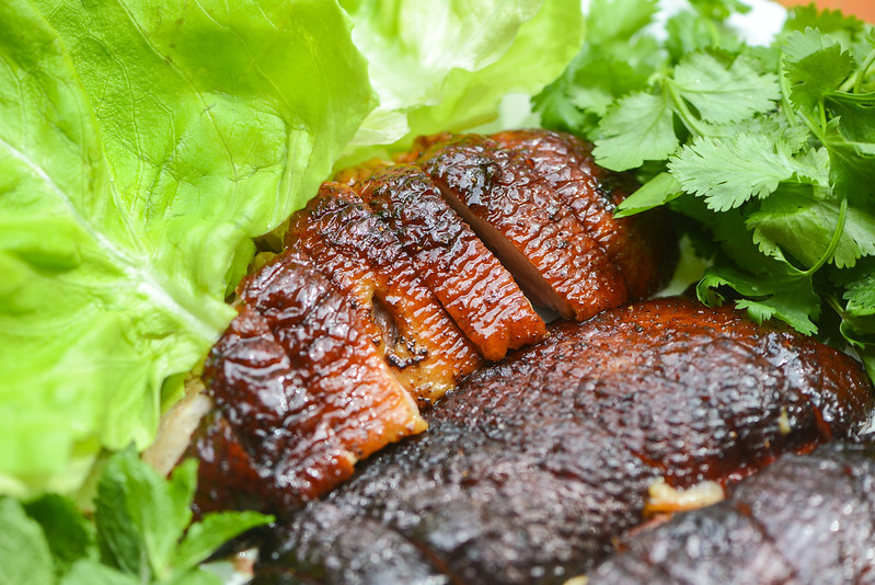 Smoked Duck Ssam
