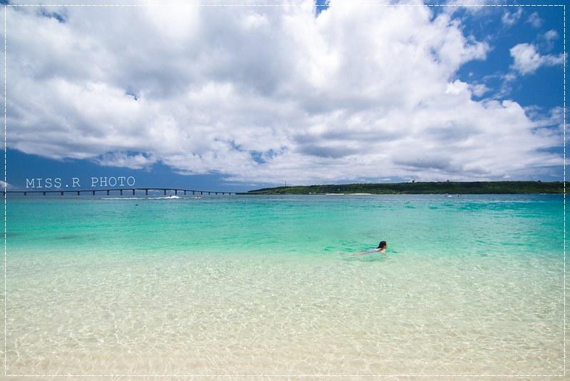 """《遊記》沖繩宮古島‧前濱沙灘(前浜ビーチ),所謂的""""宮古藍""""在這就可以看到了!延綿七公里被譽為「東洋最美麗的沙灘」❤"""