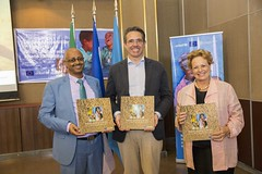 "Official launching of a photo book entitled ""Ending malnutrition in Ethiopia - A SUCCESS STORY"""