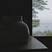 Crockery by an Open Window on a Warm Foggy Morning by smilla4