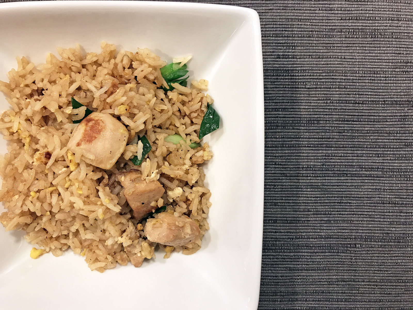 Thai-style chicken fried rice